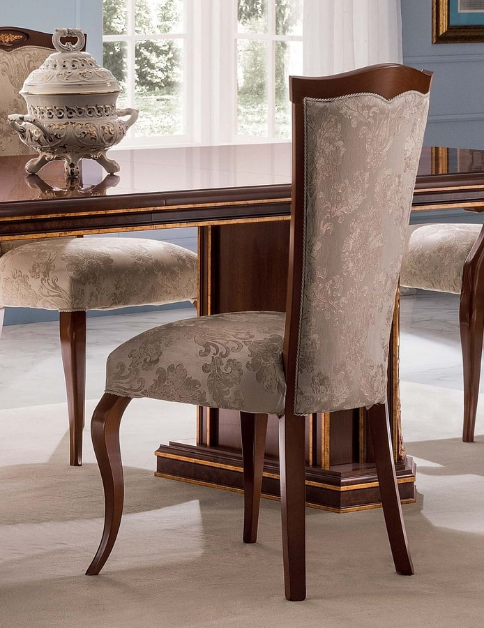 Modigliani chair, Empire style dining chair