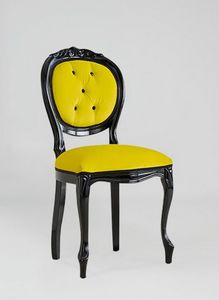 S17, Classic chair, in black painted wood