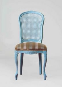 S19, Classical chair with cane backrest