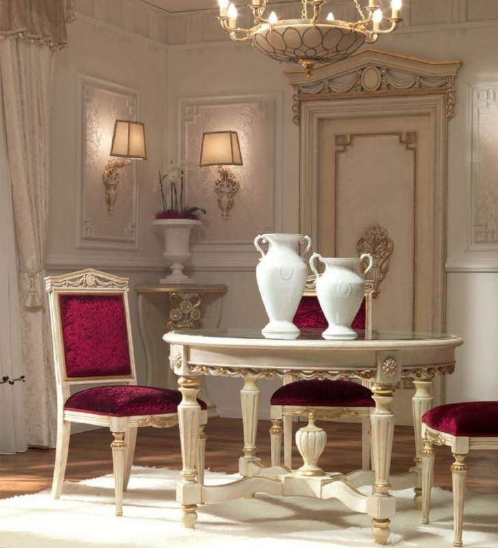 San Pietroburgo Art. SED02/VP/L51, Carved chair for classic dining room