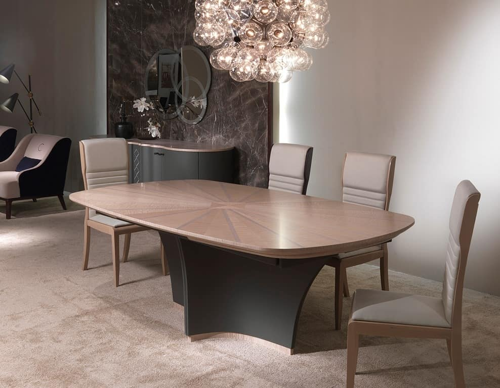 SE52 Galileo chair, Stained ash chair, in classic contemporary style