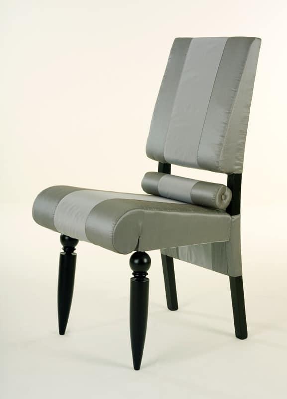 Siamodonne, Luxury classic chair, solid wood, turned legs