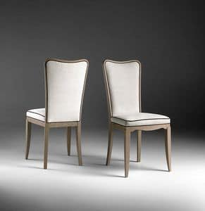 ST 601, Contemporary upholstered chair, for living room
