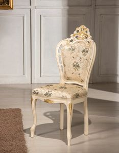 Traforata Plus chair, Carved dining chair