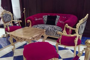 Venezia Animalier, Capotavola chair, new baroque style