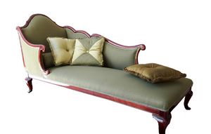 2120 DORMEUSE, Dormeuse with mahogany finish, English-style