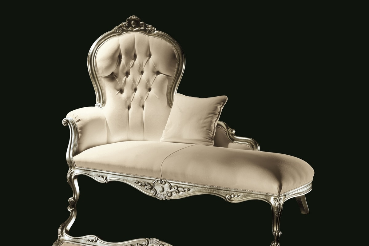 Carol fabric, Daybed, luxurious classical style