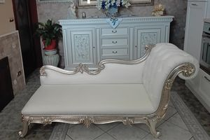 Augusto, Loveseat in true carved wood