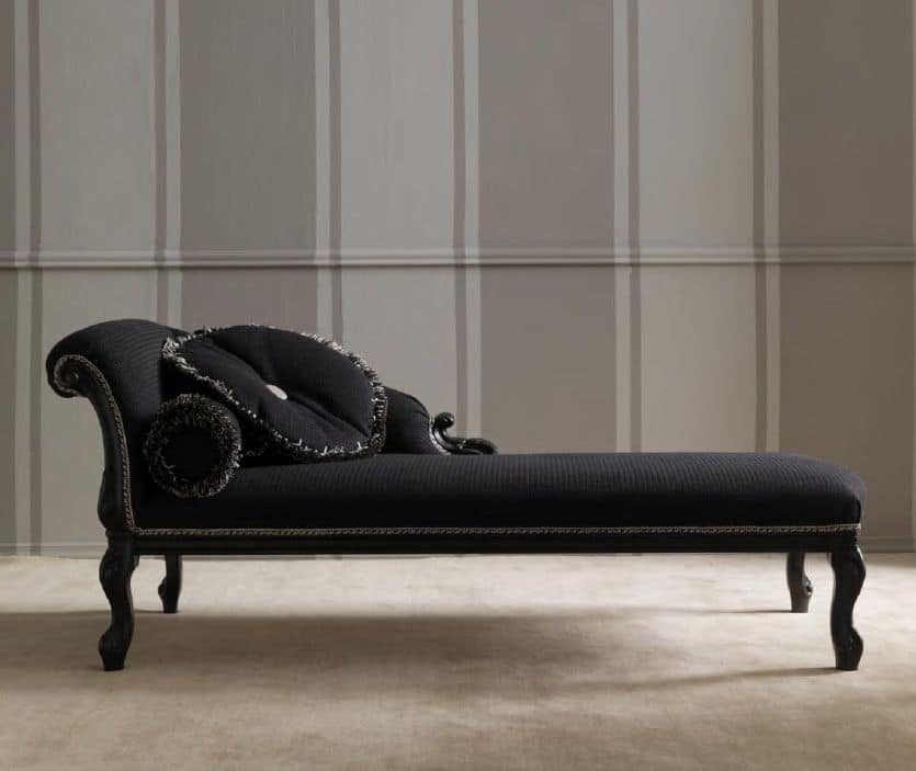 Classical Chaise Longue Elegant And Refined For The Hotel Room And