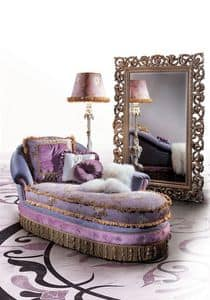 Lilly, Classical luxury daybed, fully padded