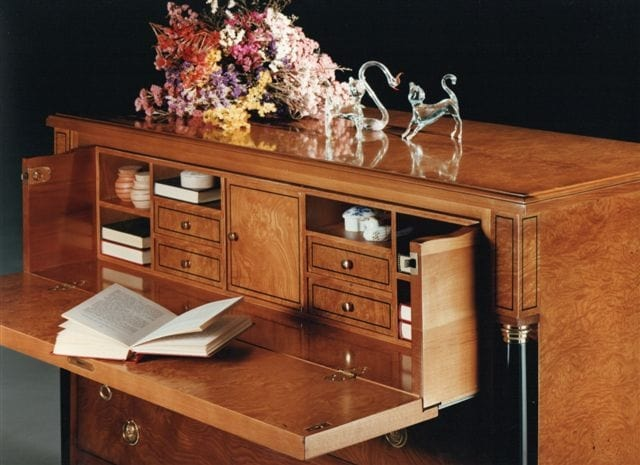 2460 chest of drawers, Empire style dresser, for classic bedrooms