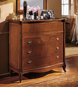 Alice chest of drawers, Wooden chests of drawers for Classic living room
