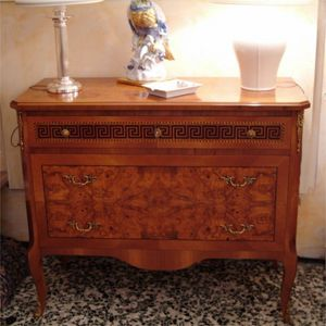 Art. 193/N Greca, Chest of drawers in ash briar