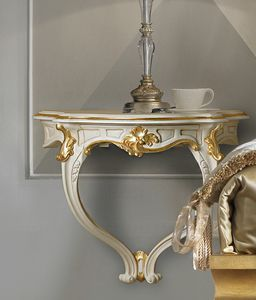 Art. 2700, Suspended bedside table, classic style