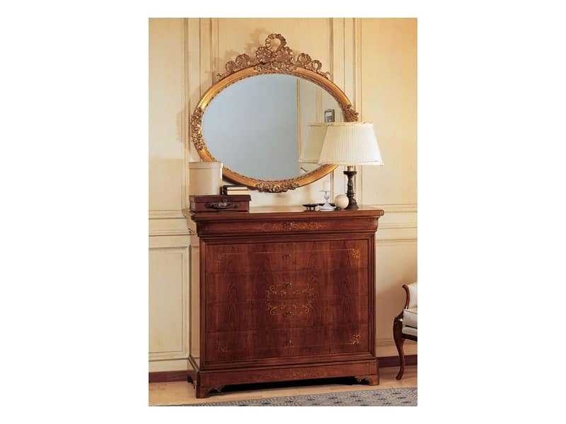 Art. 279 chest of drawers '800 Francese Luigi Filippo, Classic style chests of drawers, for villa's bedrooms