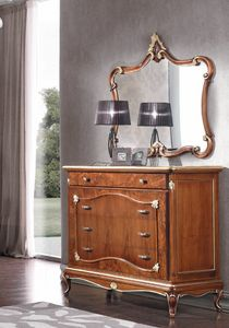 Art. 3128, Chest of drawers with briar fronts