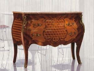 Art. 338, Wooden chests made of decorated wood, classic style
