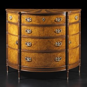 Carpaccio RA.1048, Briar crescent chest of drawers