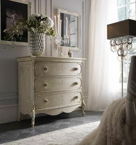 Fru-Fru chest of drawers, Classic style dresser