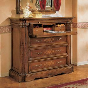 I Dogi di Venezia DOGI-E611, Classic chest of drawers with flap
