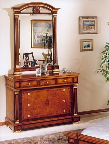 IMPERO / Chest of drawers, Chest of drawers with luxury finishings, classic style