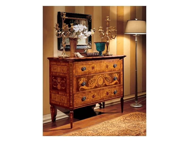 Maggiolini chest of drawers 702, Classical sideboard for living room