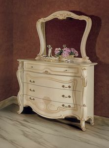 Opera chest of drawers, Dresser in classic, handcrafted style