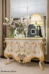 Pantheon com�, Classic style dresser, white finish