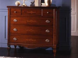 Richard chest of drawers, Classic style chest of drawers for Historic villa