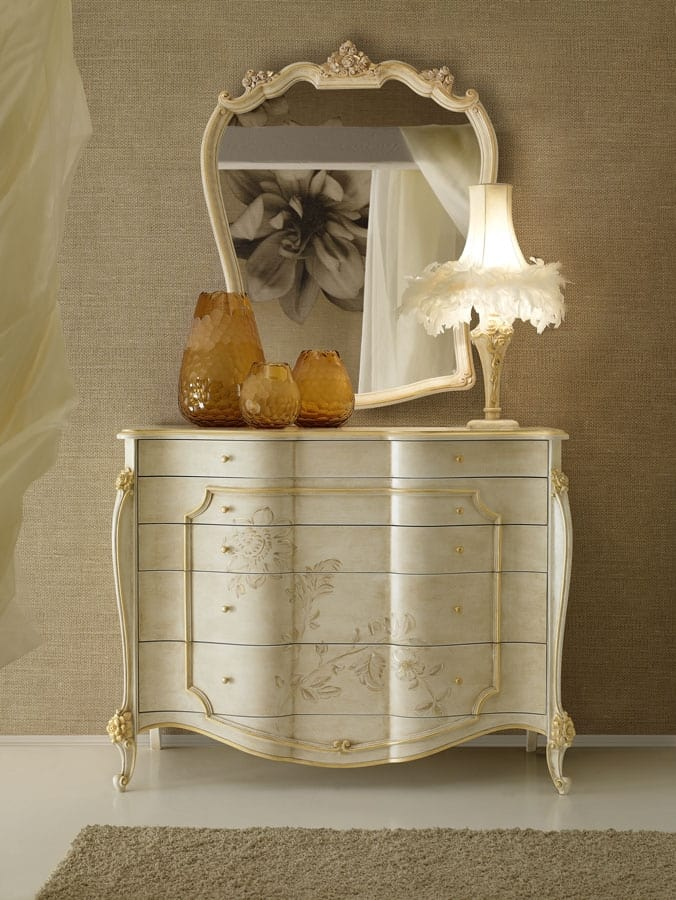 Signoria chest of drawers, Classic style chest of drawers