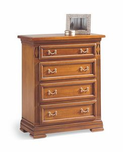 Villa Borghese chest of drawers 5370, Directoire style chest of drawers
