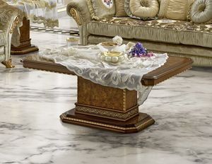 Aida coffee table, Elegant coffee table for classic living rooms