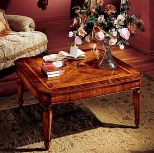 Albina coffee table, Luxury classic coffee table