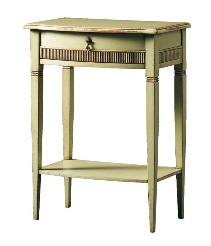 Aristotele FA.0143, Coffee table with 2 shelves, for luxury hotels and restaurants