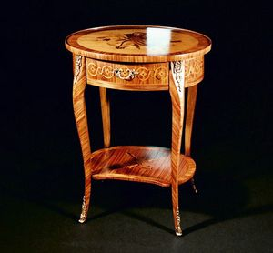 Art. 154 Violino, Classic side table, with drawer
