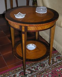 Art. 218 Ginevra, Round side table for sitting room