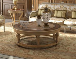 Art. 29, Coffee table with round marble top