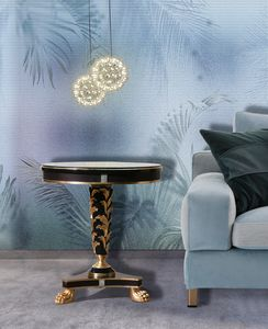 Art. 2919 Odysseus, Elegant side table with Swarovski