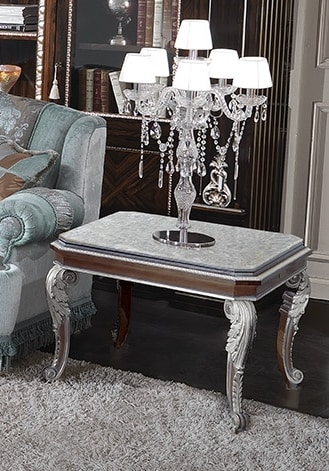 ART. 2948/P, Marble coffee table with ice finishes