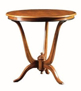 Claudio FA.0114, Deco table, wooden base with 3 feet