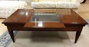 Coffee table 07, Classic coffee table, with opening top