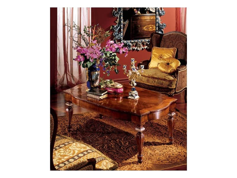 Complements coffee table 852, Rectangular coffee table for sitting room