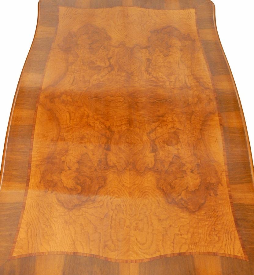Dante FA.0122, Venetian '700 rectangular coffee table