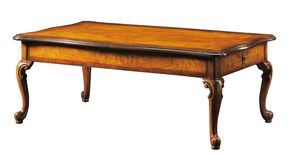 Dante FA.0122, Venetian '700 rectangular coffee table