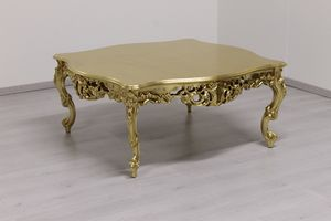 Finlandia XL, New Barocco style carved  coffee tables