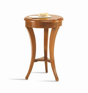 Frieda side table, Classic side table for hotel, with round top
