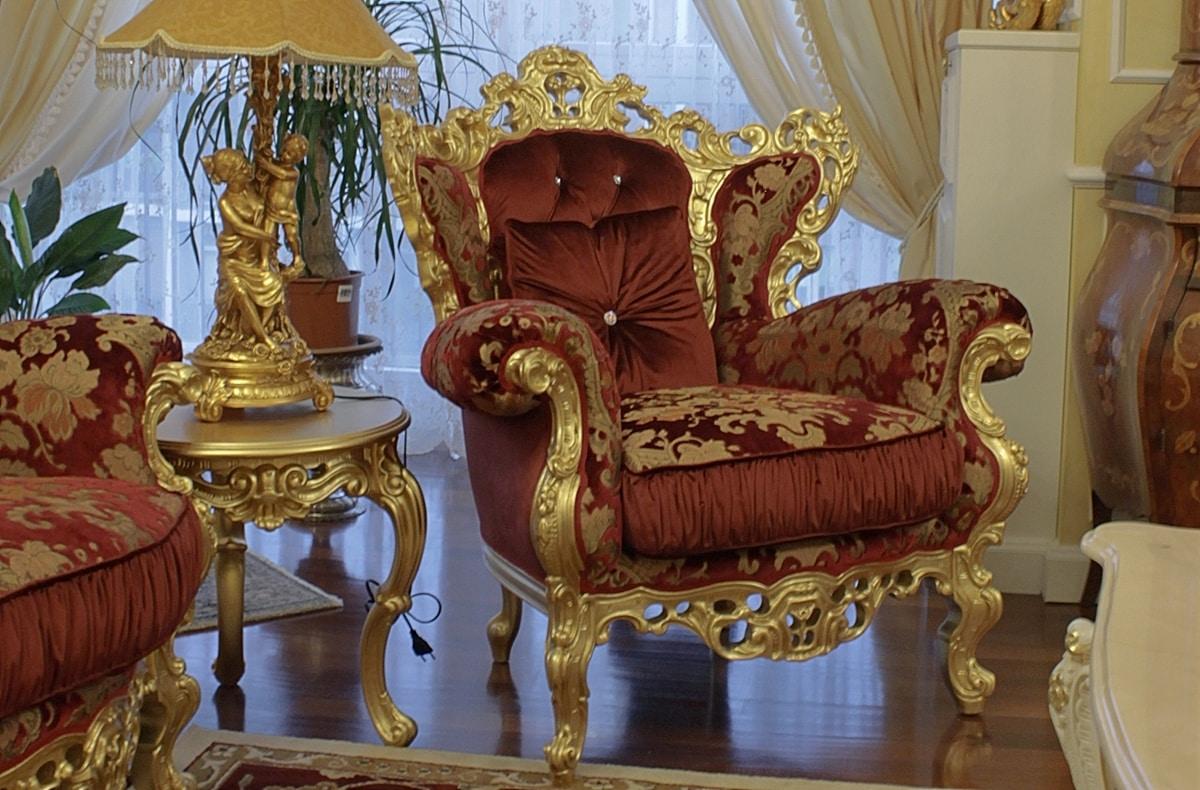 Stradivari small, Glamour baroque small table