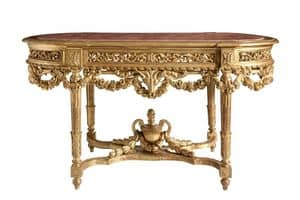 TABLE/CONSOLLE ART. TL 0013, Classical carved console table for entrances