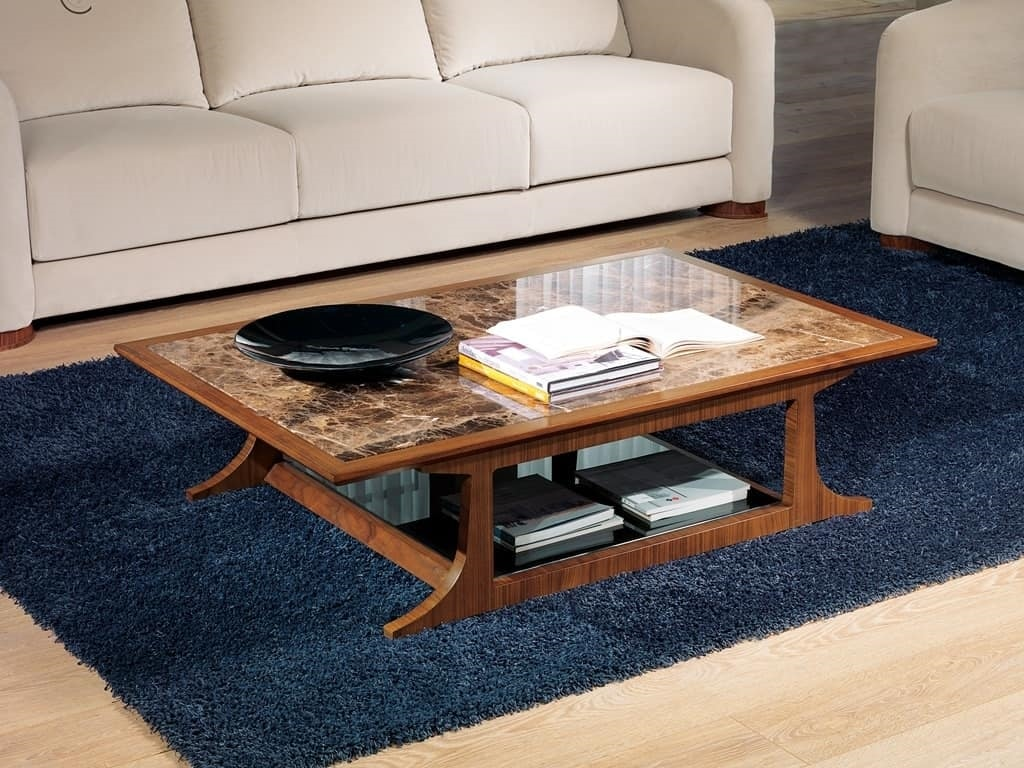 TL52 Desyo small table, Rectangular coffee tables suited for classics living rooms