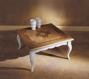 Venezia 18th century coffee table, Coffee table with inlaid top
